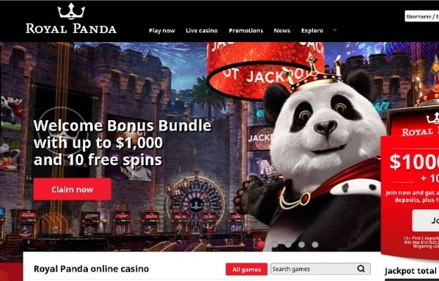 online casinos for high rollers Royal Panda